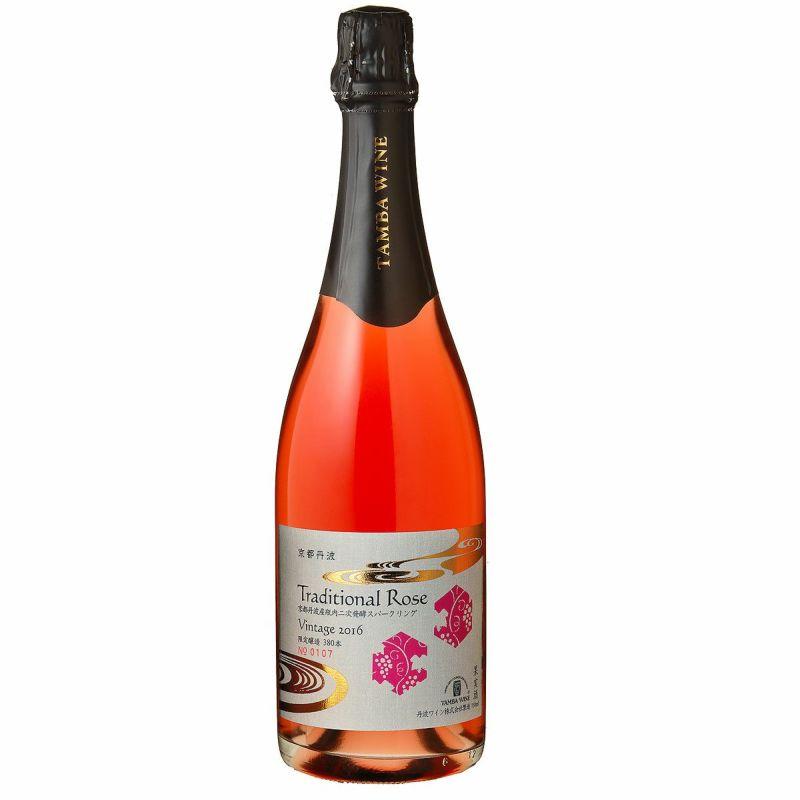 京都丹波トラディショナル(Traditional)ロゼ 2008(瓶内二次発酵)